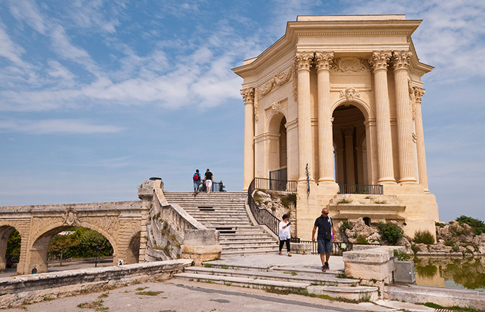 Step back in time with a walk through the Place Royale du Peyrou