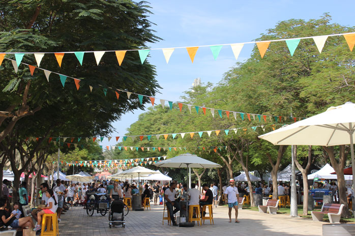 Find anything from jewellery to clothes, pop-up food outlets and live music at Ripe Market