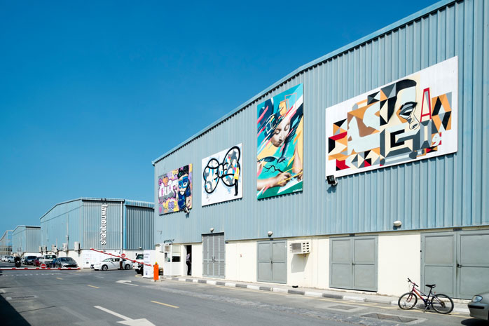 Al Quoz may not look like much, but it houses one of the city's coolest arts and culture venues