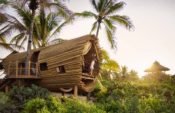 Luxury tree houses and Mexico go hand-in-hand at Playa Viva