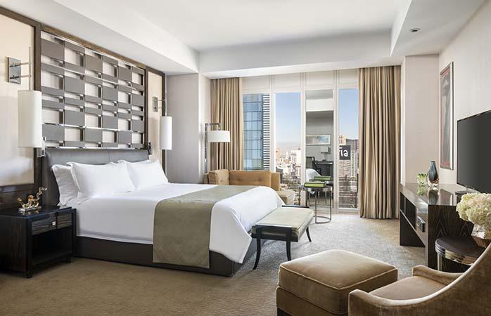 The Eco-friendly luxury hotel Waldorf Astoria Las Vegas