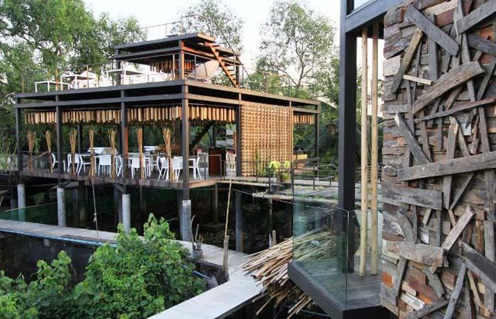 Wake up with nature at the Bangkok treehouse resort