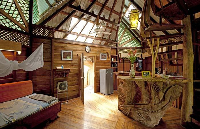 Take a break in the Tree House Lodge in Costa Rica. © Tree House Lodge