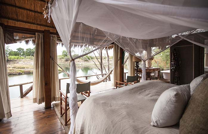 The Tongabezi Lodge - a romantic spot for a tree house holiday