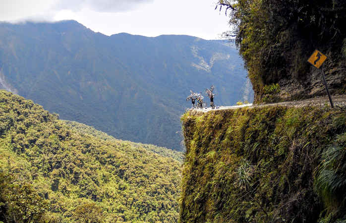 The Death route in Bolivia