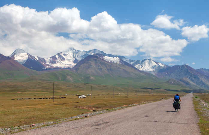 Pamir highway route