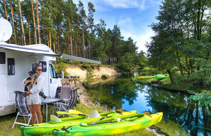 camping in Poland