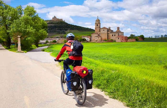 Biking on Camino de Santiago