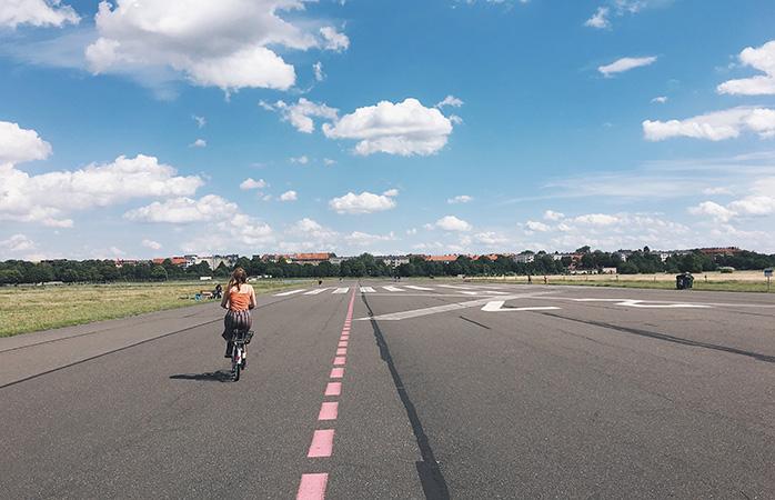Tempelhofer Feld, an out-of-the-ordinary park