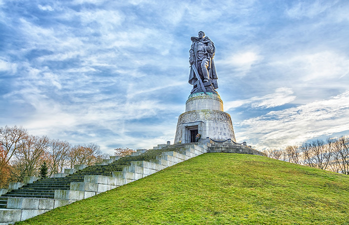 A sight to see: the Soviet War Memorial in Treptower Park
