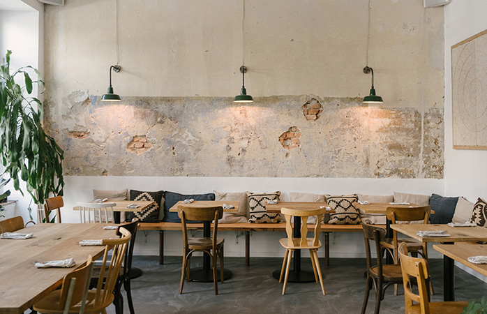 Book a table at Frea and enjoy a fully organic meal in a beautiful space @FREA