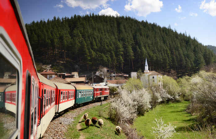 The Orient Express doesn't exist anymore but you can still experience its routes